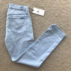 🆕 NWT 7 For all mankind light blue jeans